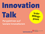 Innovation Talk Social Innovation Lab